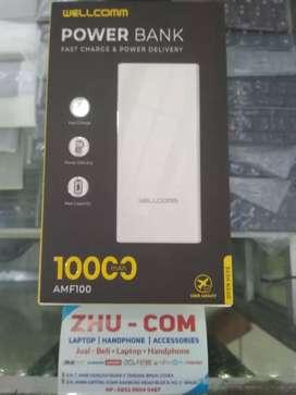 Power Bank Wellcomm Fast Charging 10rb mAh