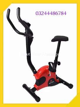 Indoor Cycle Exercise Stationary Bike with LCD Monitor Cardi