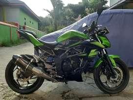 Motor ninja kawasaki z 250 SL pajak panjang