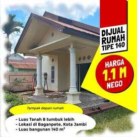 Rumah Dijual Tipe 100, Lokasi Dekat Bandara Sultan Thaha