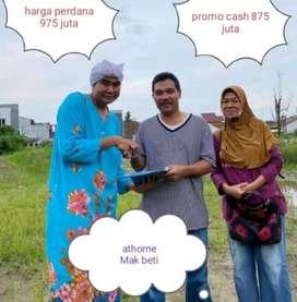 Rumah mewah gratis semua biaya pasar 2 ringroad bisa KPR