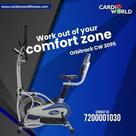 COMFORTABLE SEATED ORBITRECKS CYCLES AT LOWEST PRICE