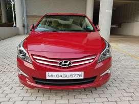 Hyundai Fluidic Verna 1.6 CRDi SX AT, 2015, Diesel