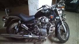 Thunderbird 350cc with Ladakh carrier and spares