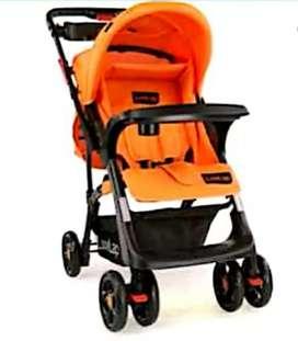 Luvlap pram Orange Colour