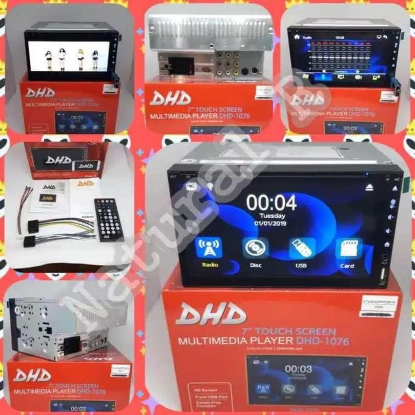 DOUBLE DIN DHD 1076, tipe terlengkap dan murah, gratis antena