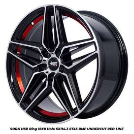 pelek mobil model baru ring18 baru HSR buat innova rush xpander HRV