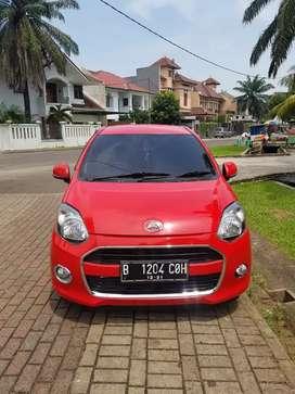 Daihatsu Ayla X At 1.0 merah thn 2016