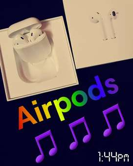 Original airpods 2 with bill 12 months old