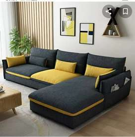 Terima service sofa , bikin , baru , ganti kain , bisa , pelitur dll