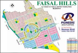 Faisal Hills Block A,B,C 5 Marlla for Sale