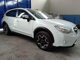 White Subaru XV Premium 2014 baru km 8