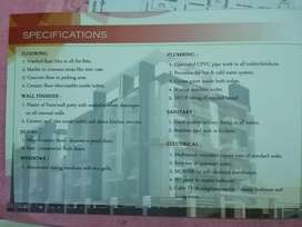 At VIP road ( Sixmile) 2bhk under construction flat.