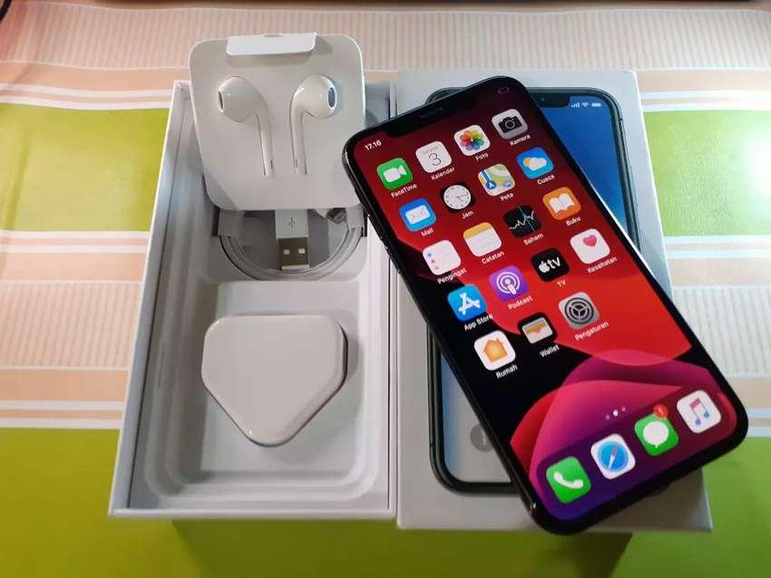 Iphone X 64 Grey Mulus Fullset 0