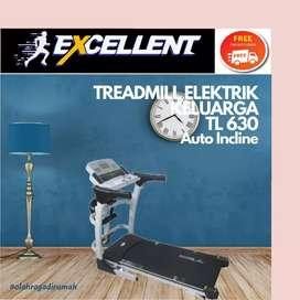 treadmill elektrik TL-630 S-31 alat olahraga lari