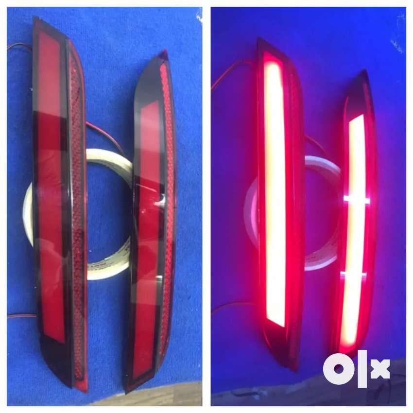 Volkswagen Polo led rear bumper reflectors