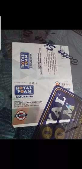 Kasur busa royal foam 120x200 garansi 15thn