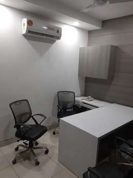 Fully furnished 900 square feet office space main market
