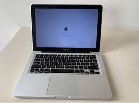 Macbook Pro 13 inch mid 2012 model, 4GB RAM, 500 GB disk, i5 processor