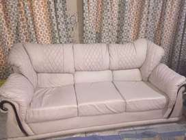 Lether sofa set for sale