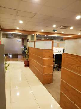 7000 Sq Ft Corporate Office Semi Furnished in Blue Area