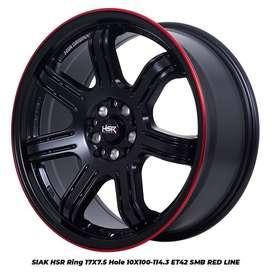 bursa velg racing murah HSR ring 17 buat Xpander, FTO, Grandis, Grandi