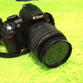 DSLR Camera Nikon D3100 Kit Lensa 18-55mm Free Tas & Memory Card