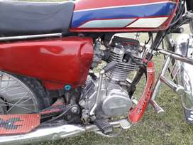 Honda 125 Point 89 original Gilgilt number Full documentation .