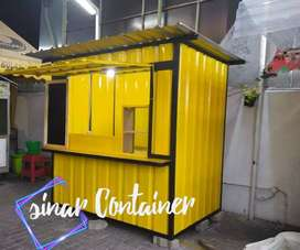 container cafe container coffee shop container thai tea gerobak usaha