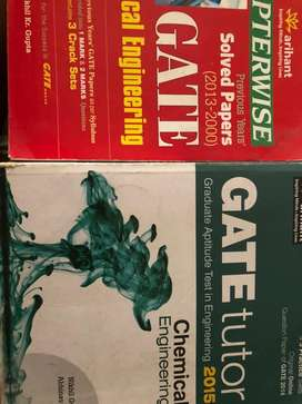 GATE CHEMICAL ENGINEERING BOOKS