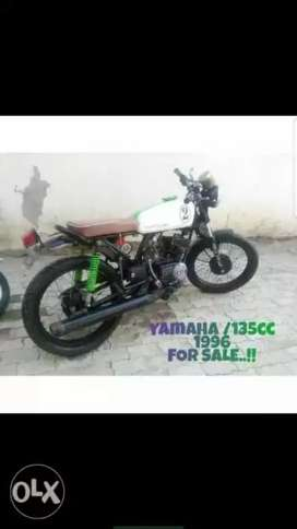 Yamaha 135cc fully modify in awesome condition
