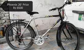 Phoenix bicycle in Very Good condition large Size 26 Inch
