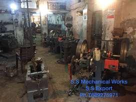 Screw making machine operator