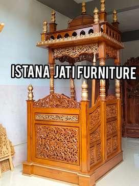 Mimbar masjid mimbar khutbah agama islam