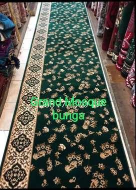 Karpet masjid Grand Mosque bunga