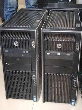 HP Z820 16core Workstation ,64 gb ram ,2 TB HDD , E5-2650 Processor