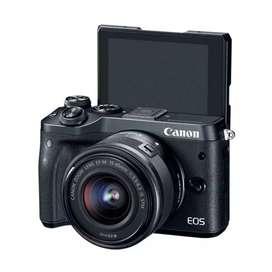 HCI - Kredit Canon M6 Gratis 1x Angsuran dn Bonus Lengkap