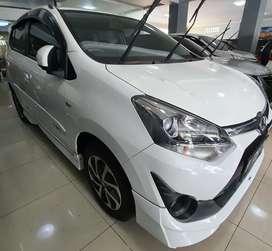 Toyota Agya TRD Sportivo facelift 1.2 Matic AT 2017 Putih Jakarta