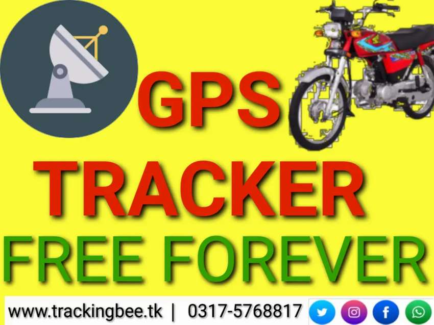 Bike GPS Tracker and Engine Control LIFE TIME FREE pta approved