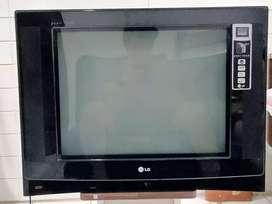 TV LG Pearl Black 21 Inch Preloved