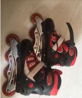 Roller blade skates