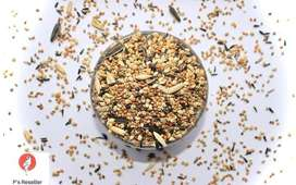 20 type seed mix food for small and medium birds