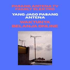 Layanan antena free pasang baru antena tv biar jernih