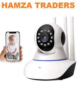 Wifi IP Camera IRCut NightVision TwoWay Audio V380 APP