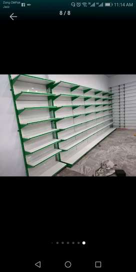 Slotted Angle for storage, display, warehousing, departmental store