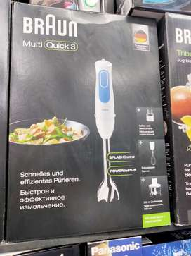 BrAun Hand blender & multi quick and all food factory's