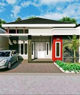Rumah tengah kota pekanbaru jl srikandi / lobak / delima cluster