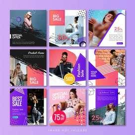 Jasa Desain Brosur logo compro Banner Packaging Undangan Dll   554419