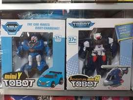 ZAHVAN STORE / MAINAN TOBOT MINI TRANSFORMER / ROBOT  / TOBOT