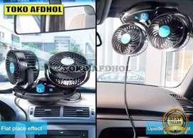 MURAH Kipas Premium MicMax Double Fan Sangat Kencang 12V/24V